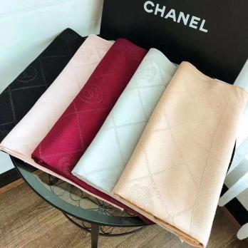 Khăn Dài 80x180 Chanel Tơ Tằm Sợi