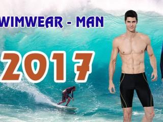 Xu Hướng Đồ Bơi Dành Cho Nam Mùa Hè 2017 – Áo Bơi, Quần Gối Năng Động Và Sành Điệu