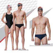 Quần bơi vát Yingfa chuyên nghiệp kẻ mờ 9202A