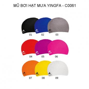 Mũ bơi Yingfa hạt mưa C0061