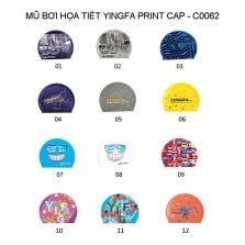 Mũ bơi Yingfa hoa văn - PRINT CAP