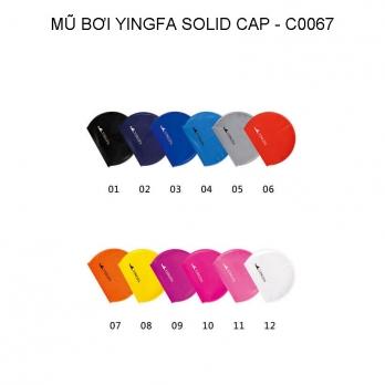 Mũ bơi Yingfa trơn - SOLID CAP