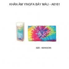 Khăn ẩm bảy màu Yingfa 66x43