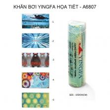 Khăn bơi Yingfa  họa tiết 105x52